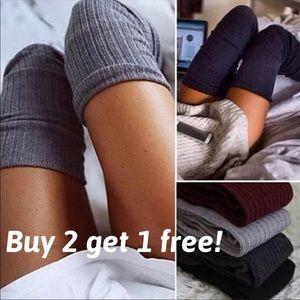 Accessories - Thigh High Knit Socks